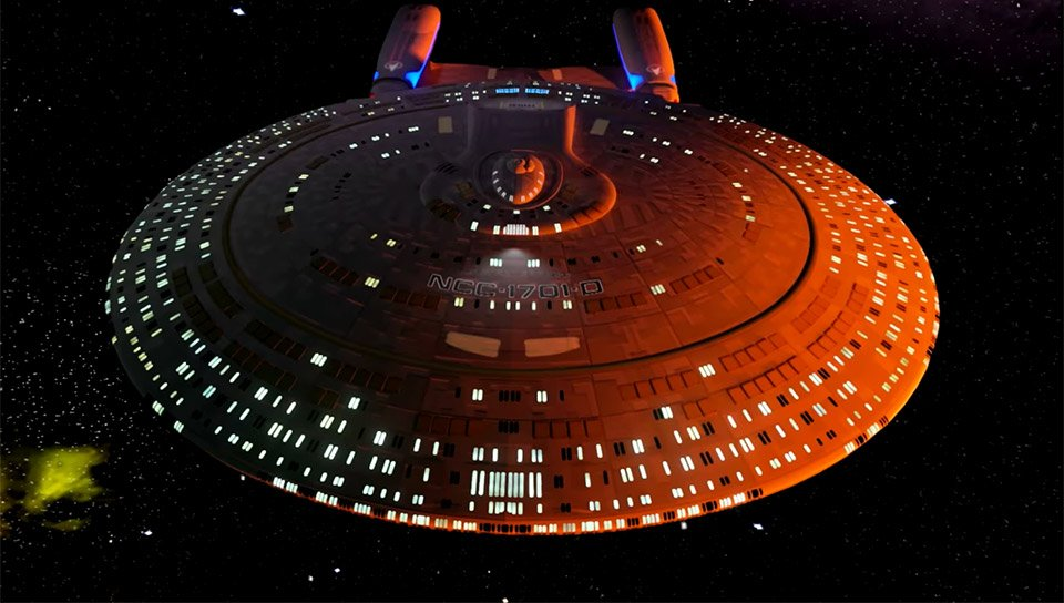 Starship Enterprise-D Virtual Tour