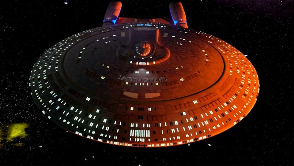 Starship Enterprise-D Virtual Tour