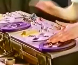 Tape Deck Scratching