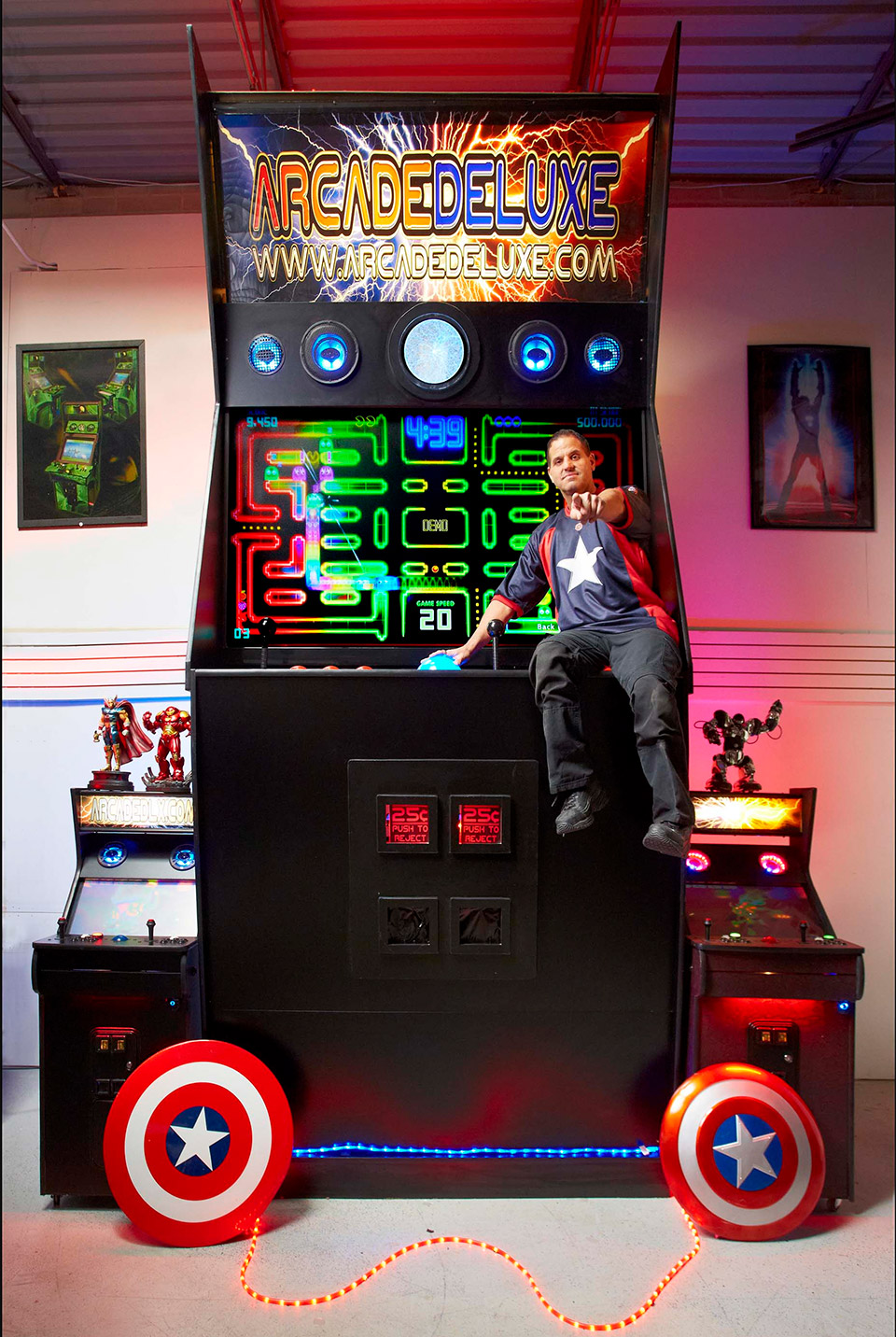 World's Largest Arcade Machine