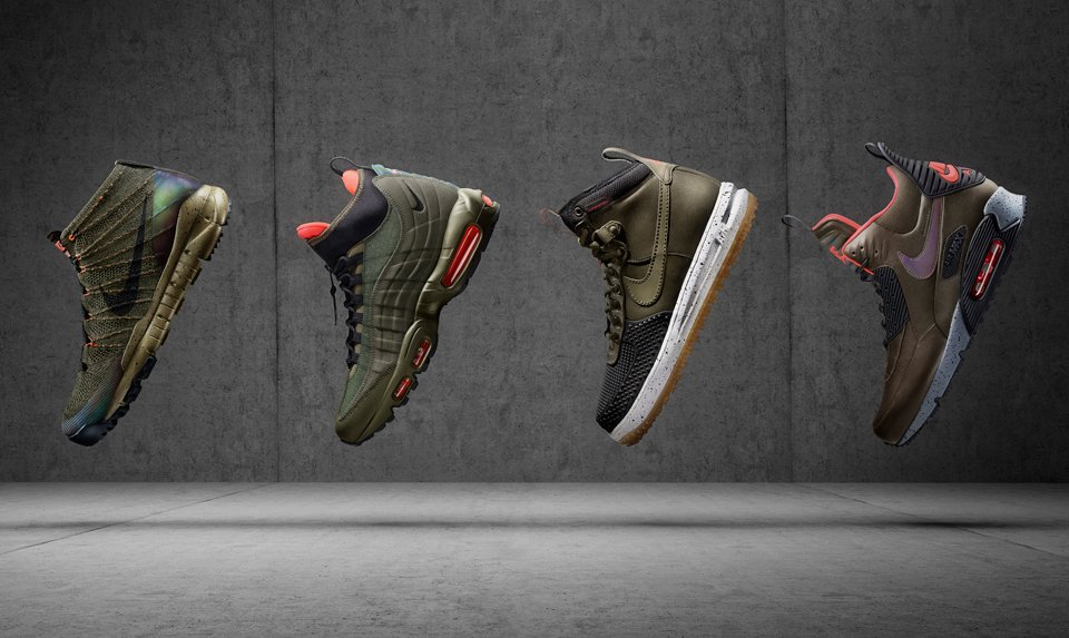 Nike Holiday 2015 Sneakerboots