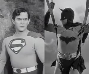 Batman v. Superman Circa 1949
