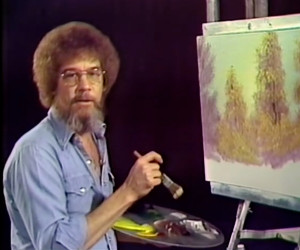 Bob Ross on YouTube