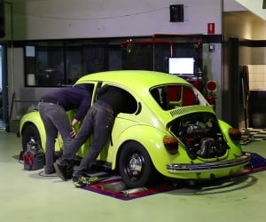 Building a Sleeper Beetle