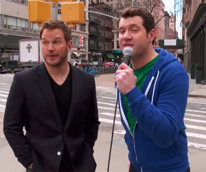 Billy on the Street: Chris Pratt