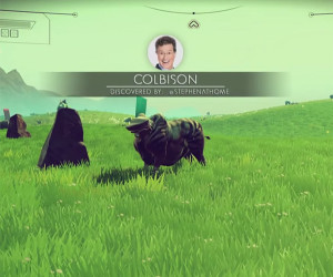 Colbert Sees No Man's Sky