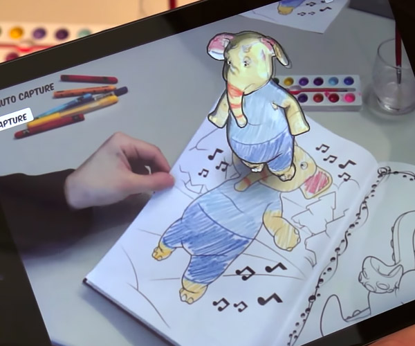 Augmented Reality Coloring Pages