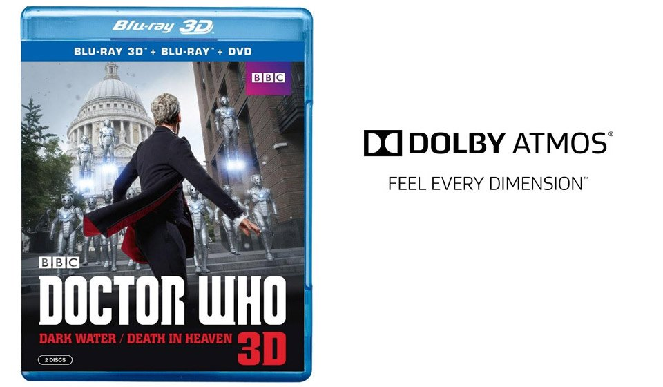 Win: Doctor Who Blu-ray Disc