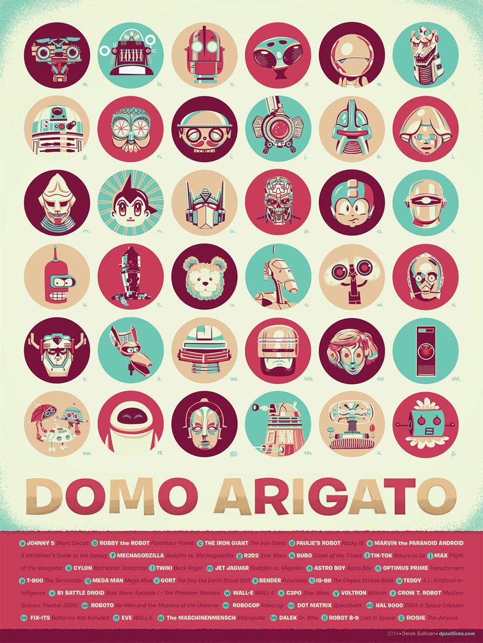 Domo Arigato Poster