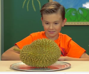 Kids React to Durian