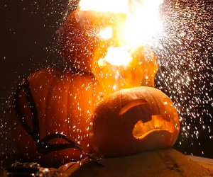 Exploding Thermite Pumpkins