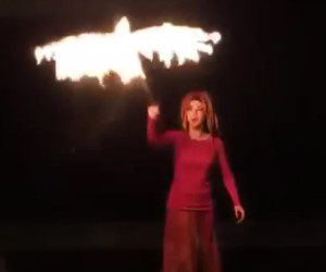 Flaming Phoenix Puppet