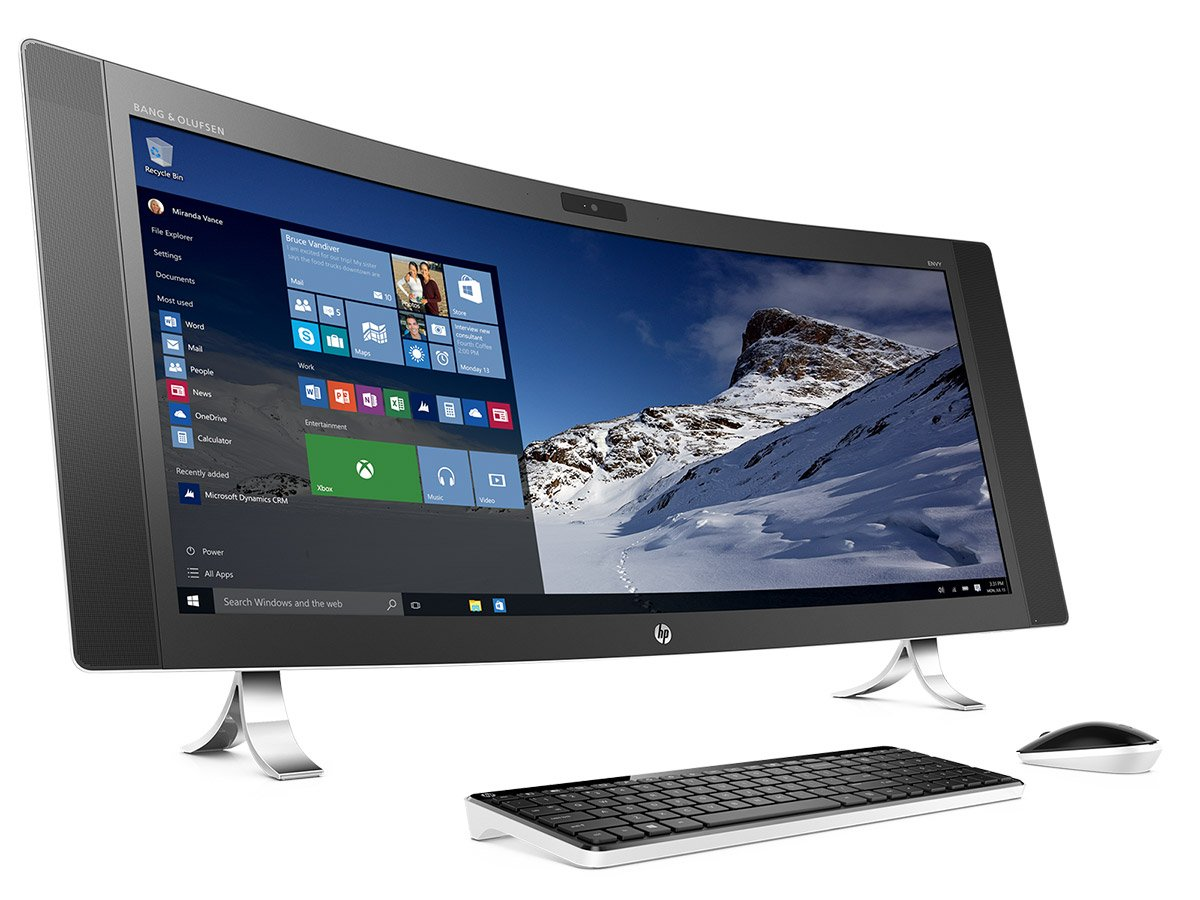 HP Envy Curved All-in-One PC
