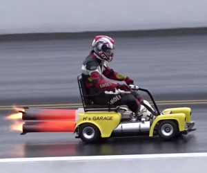 The Jet Granny Mobility Scooter