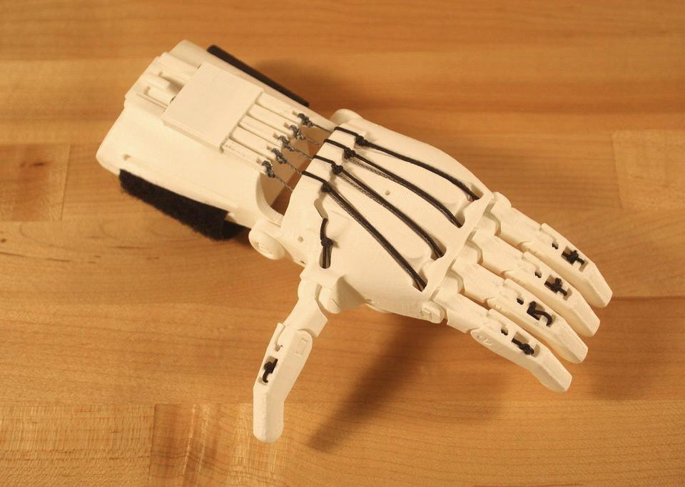 Kieran's Hand