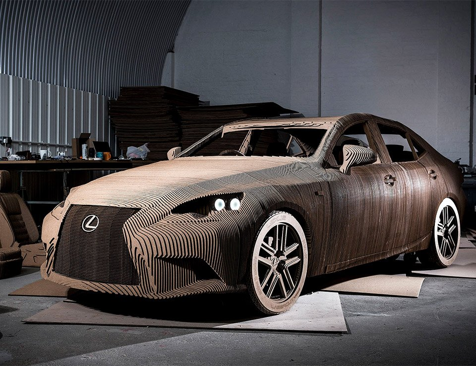 The Cardboard Lexus