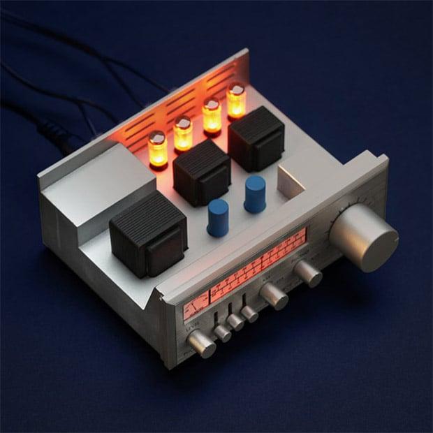 Mini Vintage Bluetooth Stereo