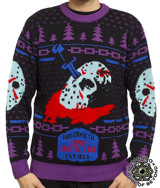 M.O.B. x Mondo Horror Sweaters