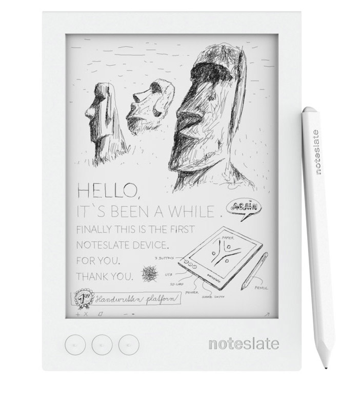 Noteslate Shiro Writing Tablet