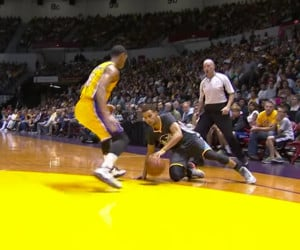 Steph Curry's Slip N' Swish