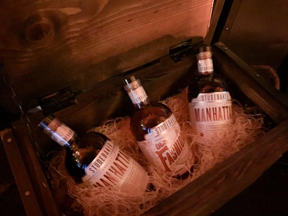 Studebaker Whiskey Cocktails