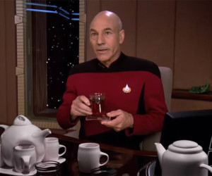 Tea with Jean-Luc