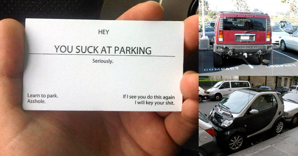 You Suck at Parking Cards - The Awesomer