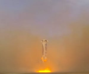 Blue Origin Reusable Rocket Test