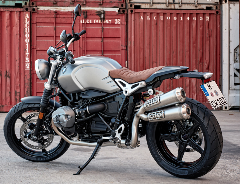 bmw r ninet scrambler the awesomer. Black Bedroom Furniture Sets. Home Design Ideas