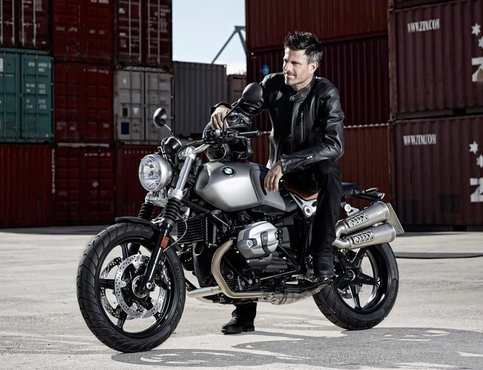 BMW gives its cafe racer a more casual design. The R NineT Scrambler ...