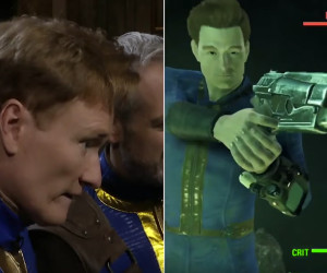 Conan Plays Fallout 4