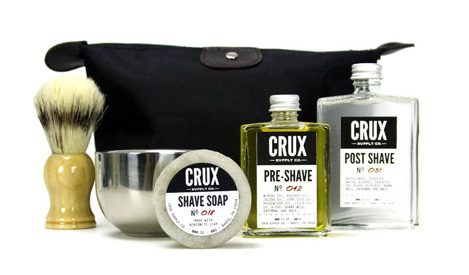 Deal: Crux Deluxe Shaving Kit