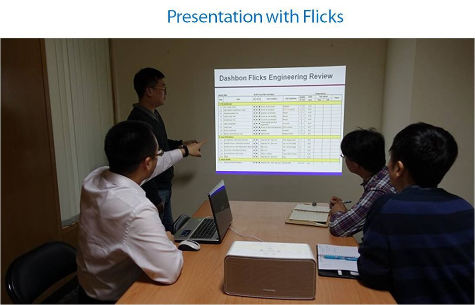 Dashbon Flicks Projector