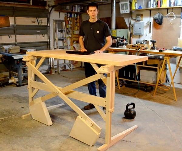 Diy Mechanical Standing Desk