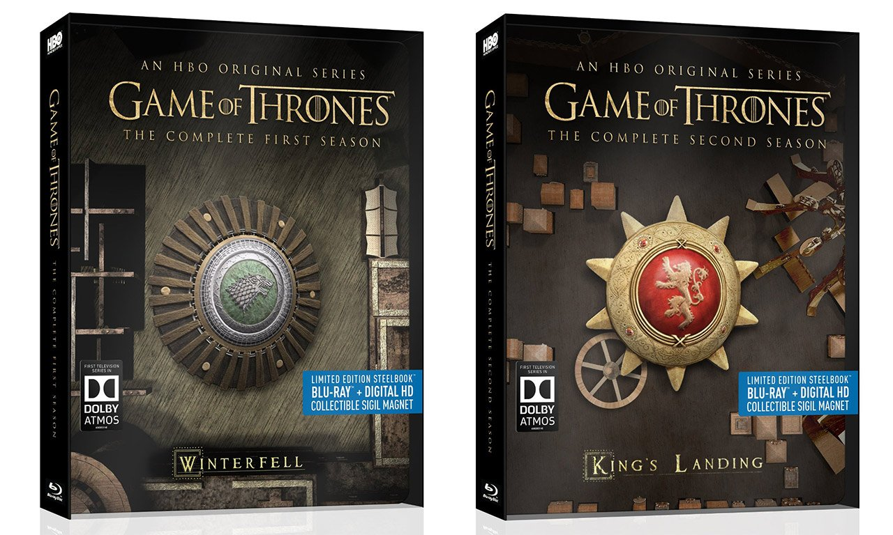 Win: Game of Thrones Blu-ray Discs