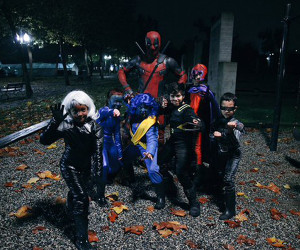How Deadpool Spent Halloween