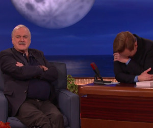 How John Cleese Comforted His Mom