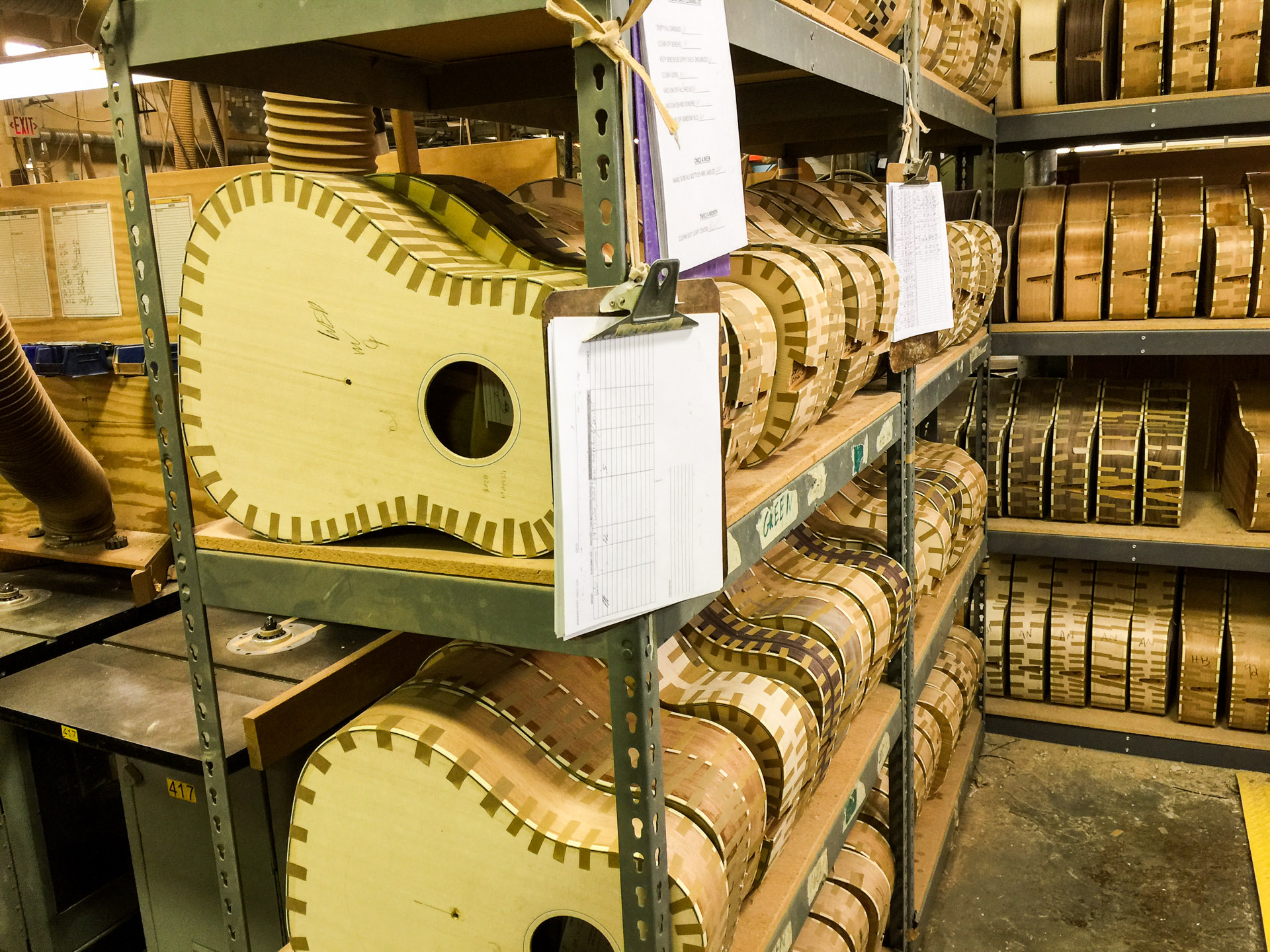 Inside the Gibson Acoustic Factory