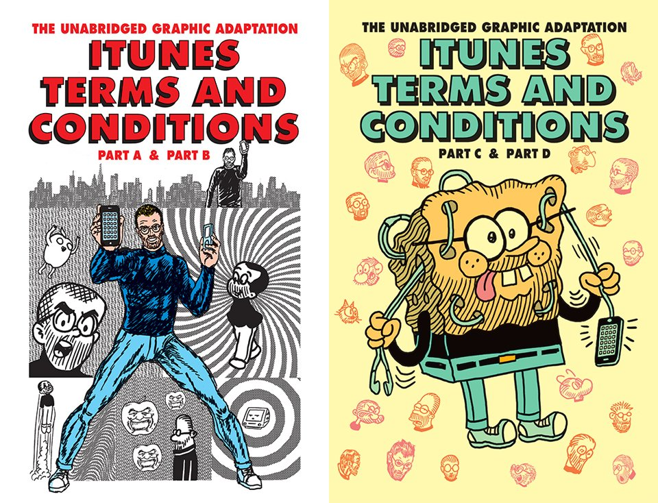 iTunes Terms & Conditions Comics