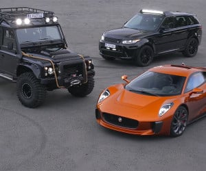 Jaguar Land Rover's Spectre Cars