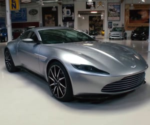 Leno Checks out Aston Martin DB10