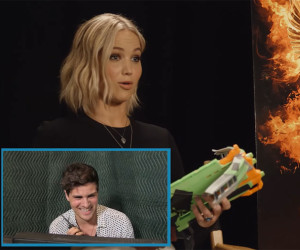 Jennifer Lawrence's Counter Prank