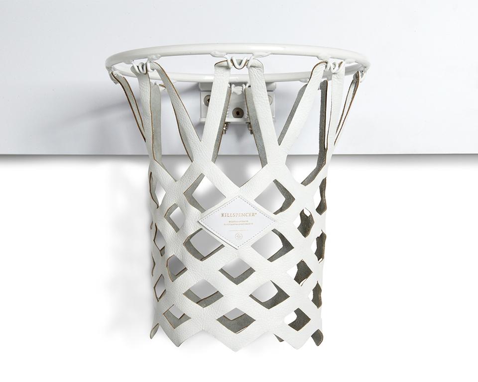 Killspencer White Mini Basketball Kit