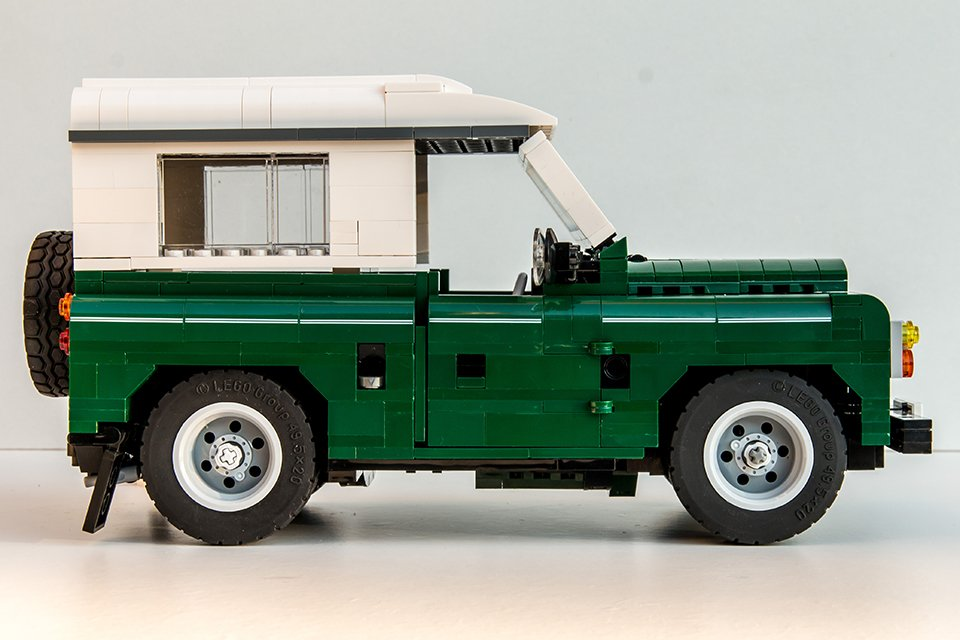 Lego Land Rover Concept The Awesomer