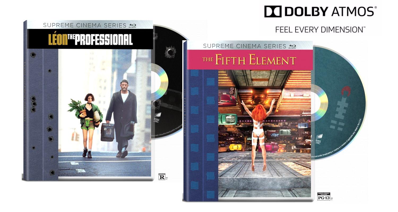 Win: Luc Besson Blu-Ray Discs