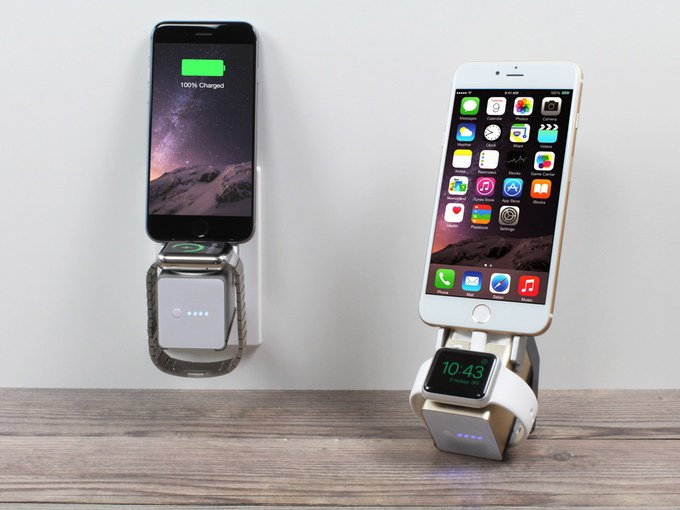 Move! iPhone & Watch Charger