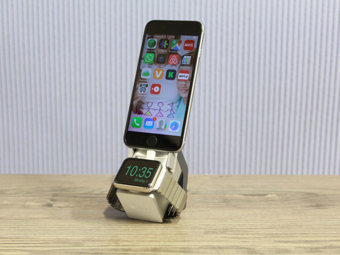Move! iPhone & Watch Charger