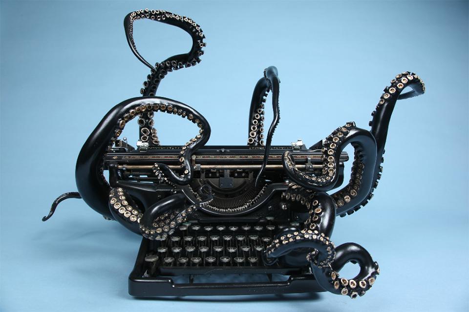 The Octopus Typewriter