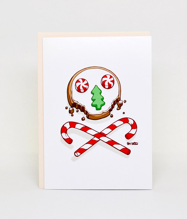 Oddly Greeted Holiday Cards