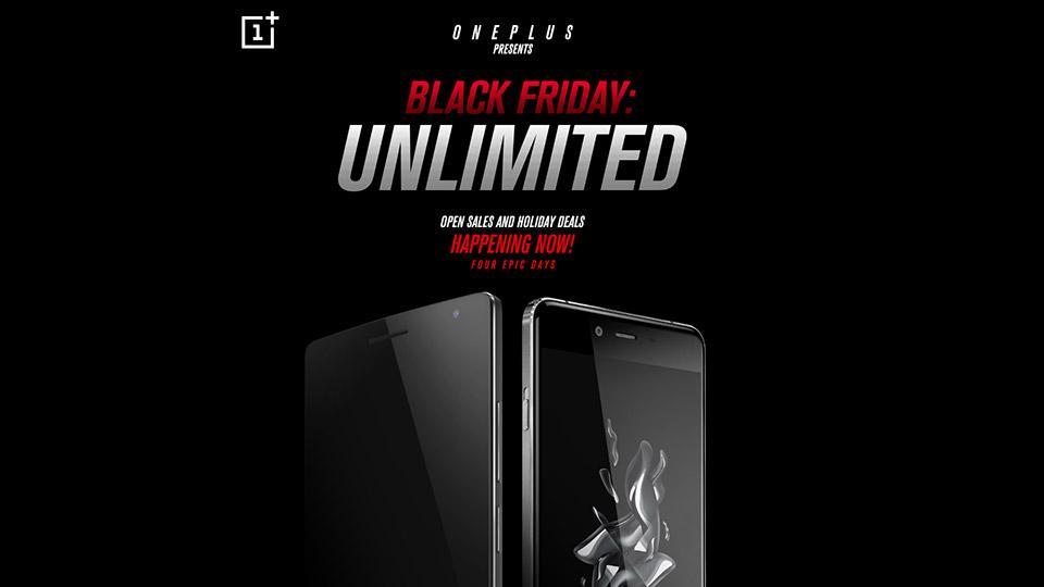 OnePlus Black Friday 2015